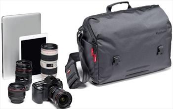 Manfrotto Speedy-30 Manhattan Messenger Camera Shoulder Bag, Grey