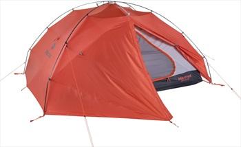 Marmot Alvar UL 3 Tent Lightweight Camping Shelter, 3 Man Burnt Ochre
