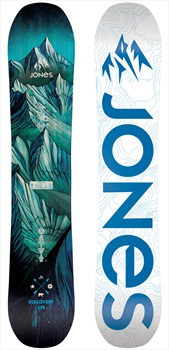 Jones Discovery Youth Hybrid Camber Snowboard, 150cm 2020