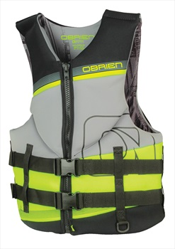 O'Brien Neoprene Tech CE Watersports Vest, 3XL Grey Green 2019