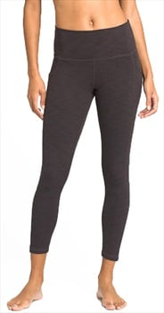 Prana Becksa 7/8 Women's Activewear Leggings, S Black Heather