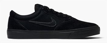 Nike SB Chron Solarsoft Men's Skate Shoes, UK 13 Black/Black