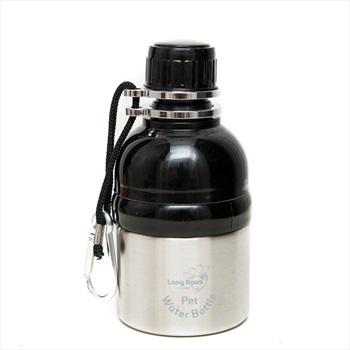 Long Paws Lick N Flow Smart Pet Water Bottle, 250ml Silver