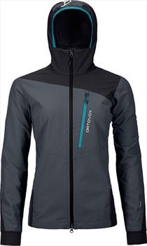 Ortovox Pala Women's Softshell Jacket, UK 12 Black Steel