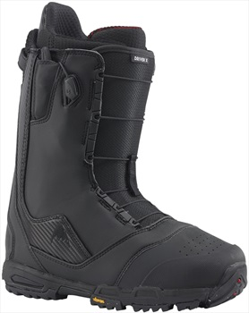 Burton Driver X Men's Snowboard Boots, UK 8.5 Black 2020
