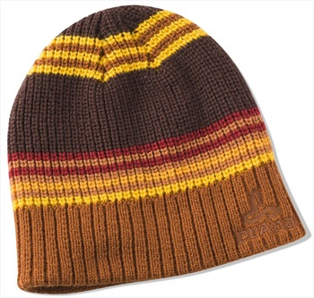 Prana Adult Unisex Gonzalez Beanie Hat - Scorched Brown