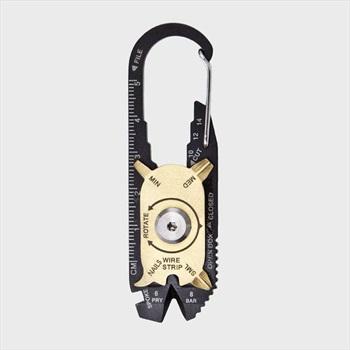 True Utility Fixr Carabiner Multi-Tool Pocket Keychain Tool + Pouch