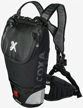 Coxa Carry M10 Backpack Dayhiking, Skiing, Cycling Pack, 10L Black