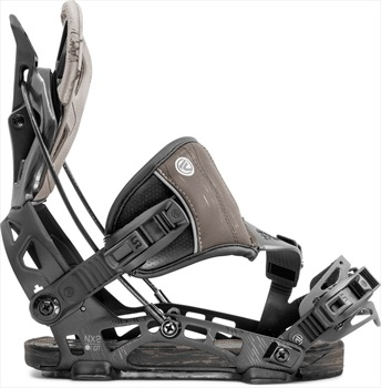 Flow Adult Unisex NX2 GT Hybrid Step In Snowboard Bindings, M 2020