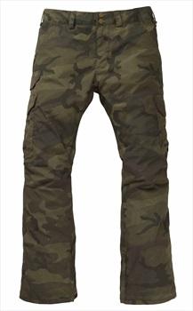 Burton Cargo Snowboard/Ski Pants, S Worn Camo