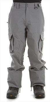Sessions Squadron Ski/Snowboard Pants, L Gunmetal