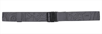 Mons Royale The 7 Belt Stretch Belt, One Size Charcoal