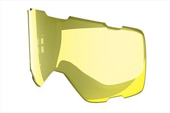 Melon Parker Ski/Snowboard Goggle Lens, One Size Yellow Chrome