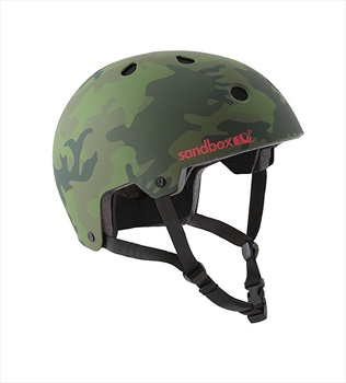 Sandbox Legend Low Rider Wakeboard Helmet, L Green Camo 2019