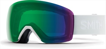 Smith Skyline CP Green Snowboard/Ski Goggles, M White Vapour