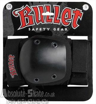 Bullet Skateboard Elbow Pads, Medium, Black, 023199