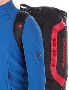 Mammut Cargon Sport Travel Duffel Bag, 90L Black/Fire