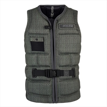 Mystic Breaking Boundaries Wakeboard Impact Vest, S Army
