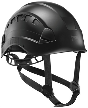 Petzl Vertex Vent Work At Height and Rescue Helmet, 53-63cm All Black