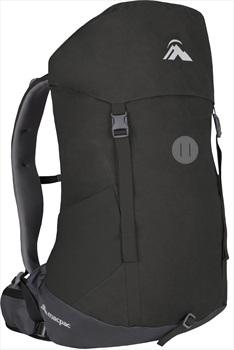 Macpac Weka 30 Trekking Backpack 30L Licorice