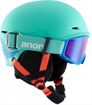 Anon Define Kid's Ski/Snowboard Helmet, L/XL BC Teal
