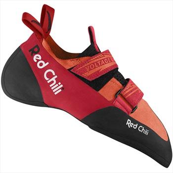 Red Chili Voltage LV Rock Climbing Shoe, UK 5.5   EU 38.5 Orange