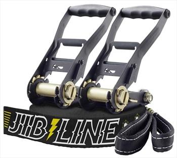 Gibbon Jibline XL + Treewear Slackline Set, 25m X 50mm Black