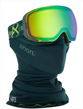 Anon M2 Sonar Green Ski/Snowboard Goggles, M/L MFI Deer Mountain