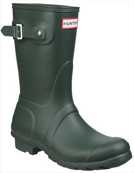 Hunter Womens Original Short Wellington Boot, UK 5 Hunter Green