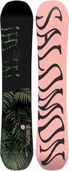 Salomon Oh Yeah Women's Reverse Camber Snowboard, 147cm 2020