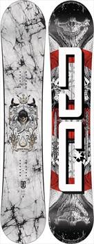 DC Space Echo Positive Camber Snowboard, 162cm 2020