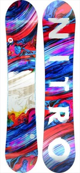 Nitro Lectra Womens Zero Camber Snowboard, 146cm 2020