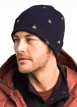 Prana Wild Now Beanie Hat, OS Nautical Mountain