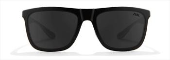 Zeal Boone Dark Grey Sunglasses, Matte Black