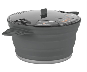 Sea to Summit X-Pot 2.8L Cooking Pot Camping Cookware 2.8L Grey