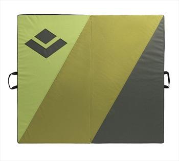 Black Diamond Impact Bouldering Crash Pad, 100x114x10cm Black/Green