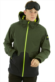 O'Neill Quartzite Ski/Snowboard Jacket, XL Forest Night