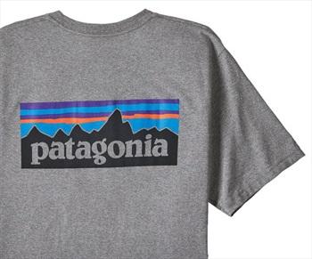 Patagonia P-6 Logo Pocket Responsibili-tee T-Shirt, XL Grey Heather