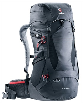 Deuter Futura 30 Hiking Backpack, 30L Black