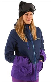 Westbeach Snowbird Women's Ski/Snowboard Jacket, S Marine