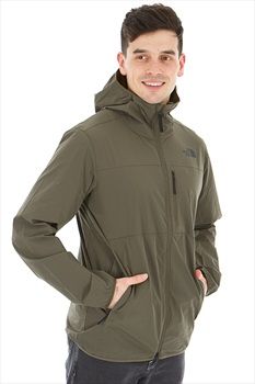 The North Face North Dome 2-Stretch Wind Climbing Jacket, S Green