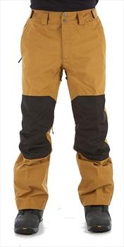 The North Face Uni DRT Ski/Snowboard Pants S Khaki/TNF Black