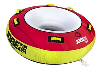 Jobe Giant Towable Inflatable Tube 3 Rider Red 2019