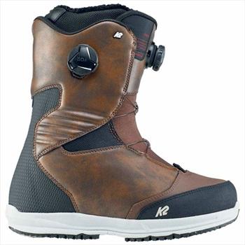 K2 Renin Men's BOA Snowboard Boots, UK 11 Brown 2020
