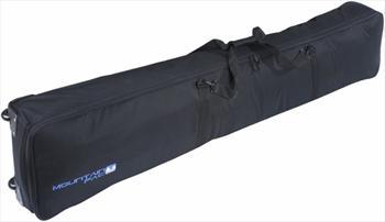 Mountain Pac Wheelie Double Ski Snowboard Bag Long 180cm Black