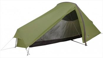 Force 10 Helium UL1 Ultralight Backpacking Tent, 1 Man Alpine Green