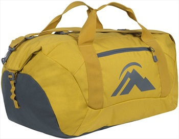 Macpac Duffel Carry Travel Pack, 50L Lemon Curry