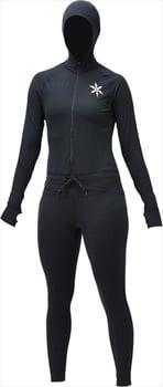 Airblaster Womens Classic Ninja Suit Thermal Base Layer, L Black
