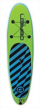 """O'Brien Kona Beginner ISUP Paddleboard Package, 10'6"""" Green Blue 2020"""