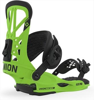 Union Flite Pro Snowboard Bindings, L Acid Green 2020